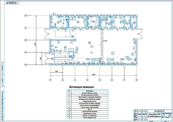 Планировка РММ Кемского ДРСУ до реконструкции
