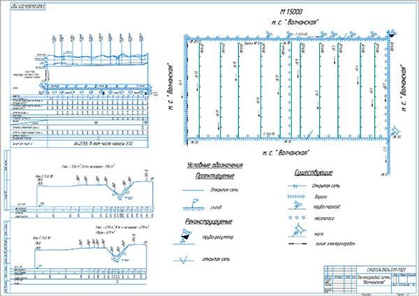 Технологическая карта на производство культуртехнических работ базовой и новой машиной на мелиоративной системе