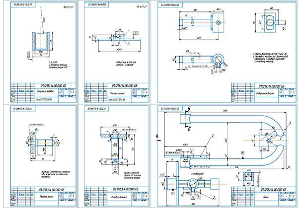 Деталировка стенда промывки радиаторов
