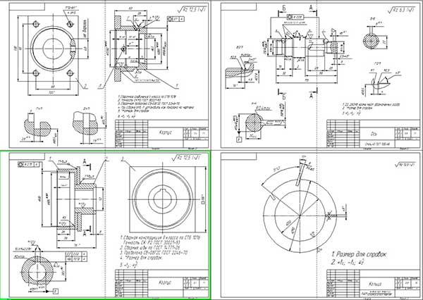 Деталировка модернизации культиватора КШП-8