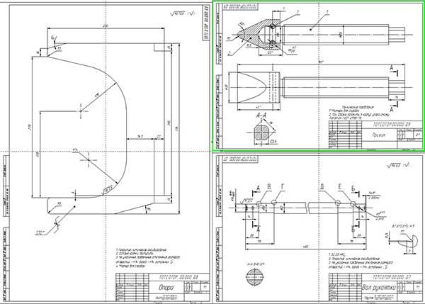 Деталировка стенда разборки-сборки коробок передач автомобилей КамАЗ
