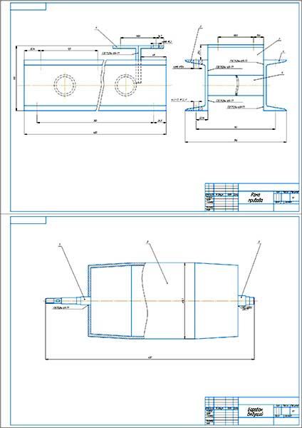Сборочные чертежи привода установки УФ обработки семян