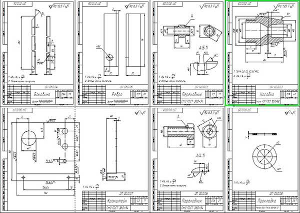 Деталировка моечной машины высокого давления