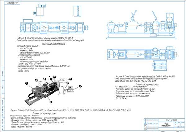Обзор прототипов стендов испытания КПП