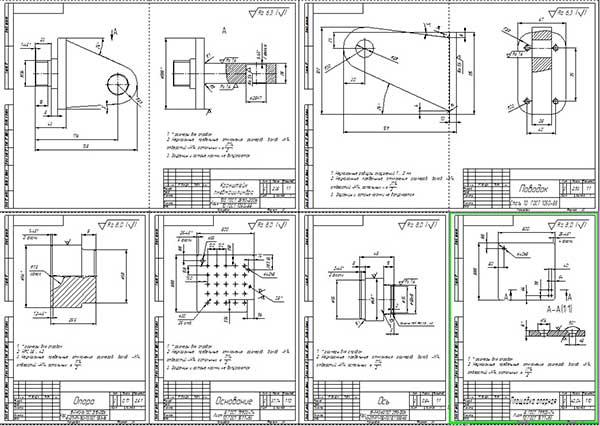 Деталировка люфт-детектора