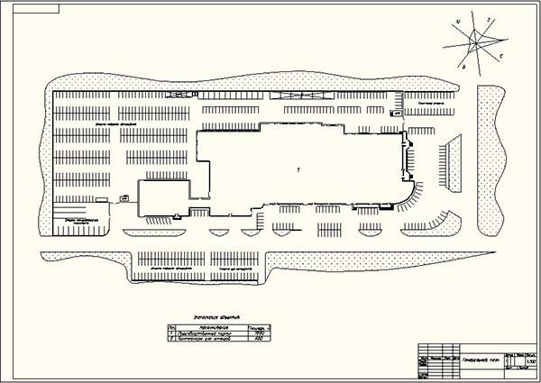 Генеральный план СТО Аояма Моторс
