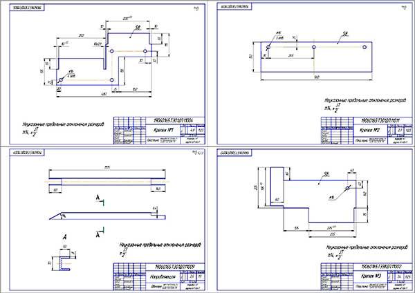 Деталировка стенда для разборки-сборки бескамерных колес