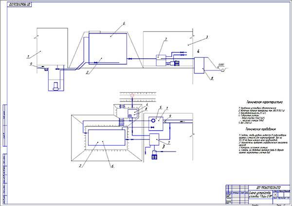 Электрическая схема токарный станок