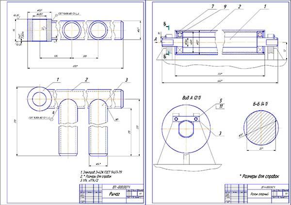 Деталировки стенда для ошиповки колес