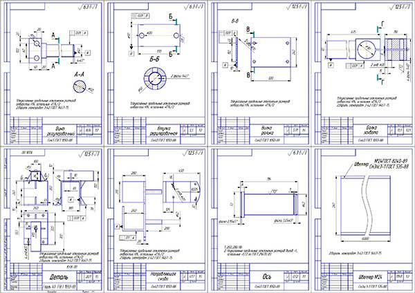 Деталировка разработки стенда